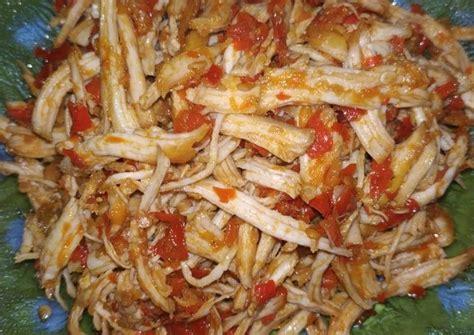 Lihat juga resep bakwan ceker ayam enak lainnya. Resep Ayam Suwir Balado - Resep Enak Indonesia