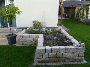 Garten Mauern Steine : mauerbau hochbeet steintreppe g rtner gartengestaltung augsburg ~ Markanthonyermac.com Haus und Dekorationen