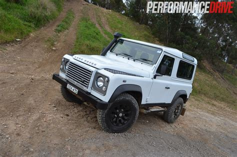 land rover off road land rover defender 90 review performancedrive