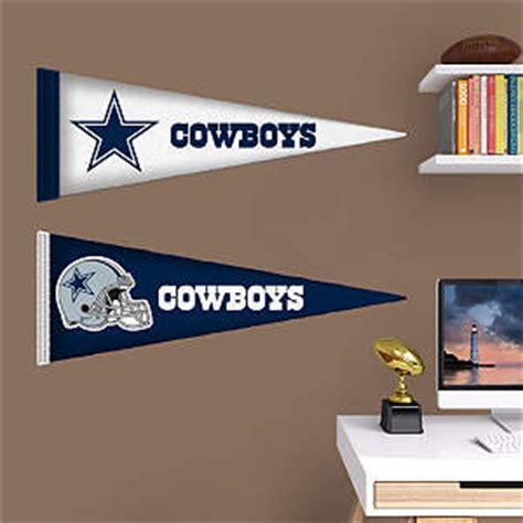 Cheap Dallas Cowboys Home Decor by Dallas Cowboys Pennants Fathead Jr