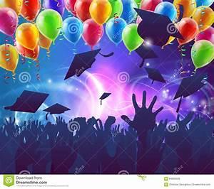 Graduation Celebration Party Stock Vector - Image: 64855503