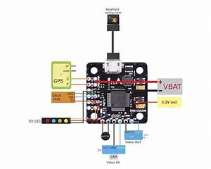 Mini F3 Flight Controller With Osd  U2013 Betaflight  U2013 Dshot