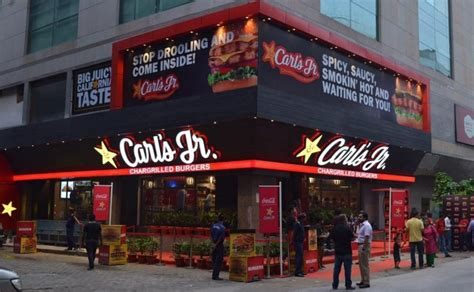 American Burger Chain Carl's Jr. opens its first ...