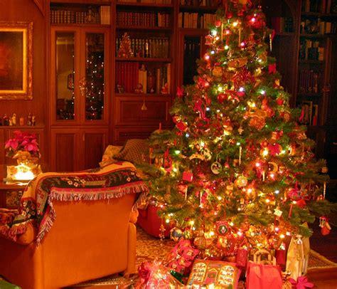 fotos de arboles de navidad decorados imagenes de