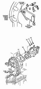 2  Remove Fuel Injection Pump From Engine