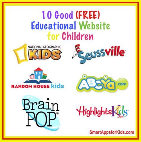 Top 18 Free Educational Websites For Kids