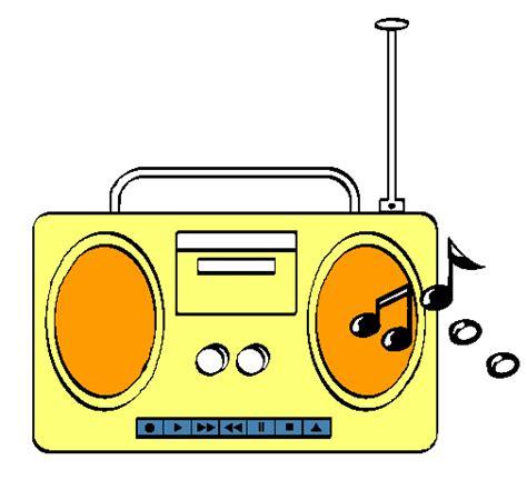 en la radio dibujos imagui