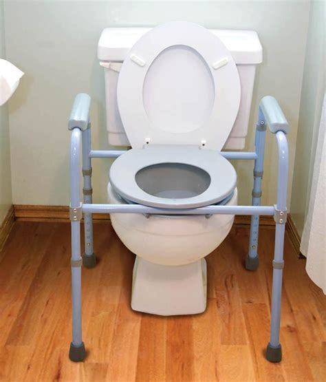 commode chair that fits toilet deluxe folding commode franciscan companies