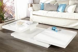 Table Basse Blanche Design : table basse blanche design id es de d coration ~ Nature-et-papiers.com Idées de Décoration