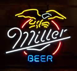 Miller MGD Lite Beer Signs
