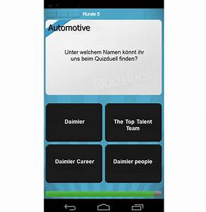 Daimler Event App : recrutainment live daimler fordert zum quizduell heraus ~ Kayakingforconservation.com Haus und Dekorationen