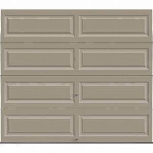 clopay premium series 8 ft x 7 ft 129 r value With 9 x 7 insulated garage door prices