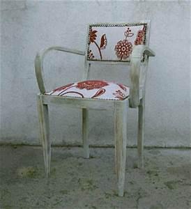 Tapisser Une Chaise : retapisser un fauteuil bridge esprit cabane idees creatives et ecologiques ~ Melissatoandfro.com Idées de Décoration