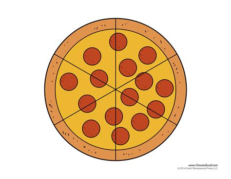 pizza template pepperoni pizza craft
