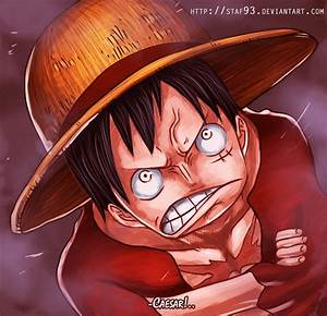 One Piece 685 - Angry Luffy by staf93 on DeviantArt