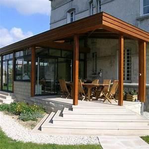 Veranda En Bois A Faire Soi Meme : veranda comparatif mat riaux veranda bois acier pvc et alu ~ Premium-room.com Idées de Décoration