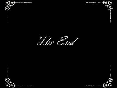 End Film Fin Gifs Animes