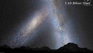 Andromeda and The Milky Way – Collision in 3, 2, 1 ...