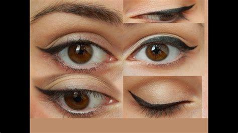 Как рисовать стрелки на глазах поэтапно идеальные ровные стрелки для начинающих