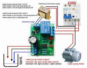 Dc 12v Water Level Switch Sensor Controller Water Tank Auto Pumping Switch Relay 699908505221