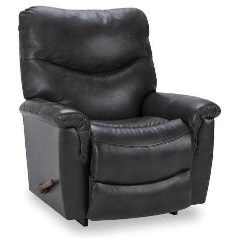 Jason Recliners by Jason Gray Leather Rocker Recliner Recliners Wg R