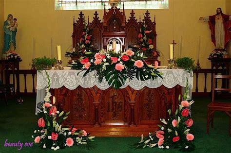 altar wedding decor fashion on the church wedding decorations Church