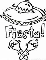 Sombrero Drawing Coloring Getdrawings sketch template