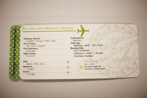 Travel Escort Tag Template by Plane Ticket Invitations Passport Programs And Luggage