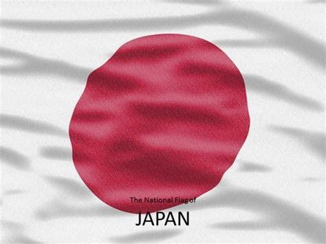 japan flag powerpoint template