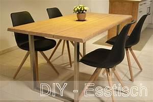 Esstisch Aus Echtholz : diy esstisch selber bauen meineschokoladenseite ~ Markanthonyermac.com Haus und Dekorationen
