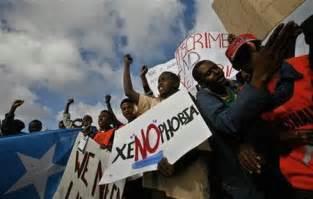 "... no <b>xenophobia</b>"", calling for"