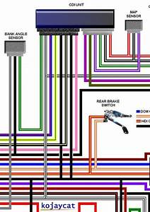 Harley Davidson Large Laminated Colour Wiring Loom Diagrams