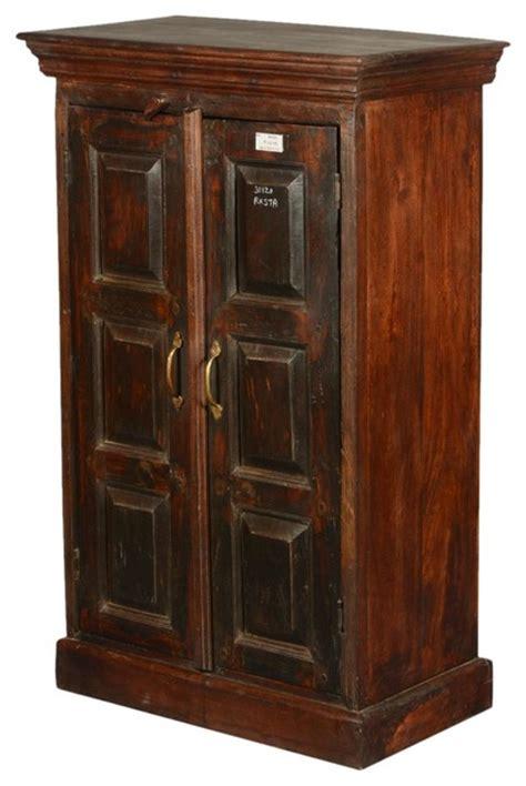 rustic accent cabinet shaker rustic reclaimed wood door 43 quot cabinet
