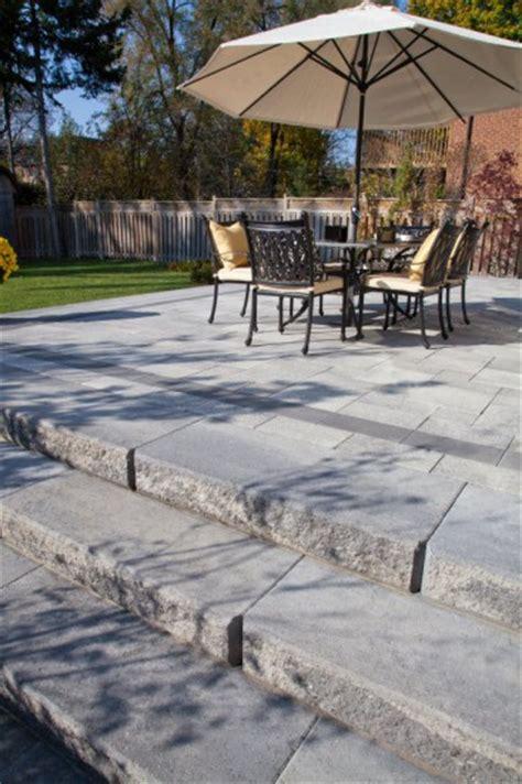 unilock pavers dealer unilock umbriano paver patio with sienastone steps photos