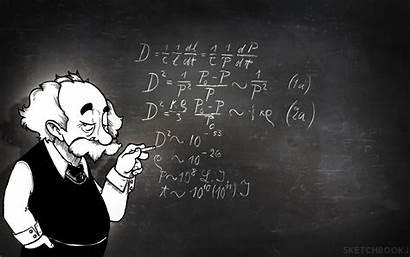 Physics Math Wallpapers Cool Einstein Cartoon Albert