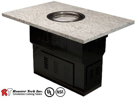 bbq table roaster tech inc