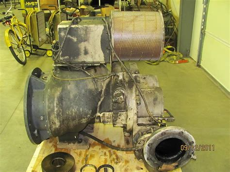 ingersoll rand 100 air compressor ingersoll rand model xfe300hp rotary air compressor head1685cfm 100 psi ebay