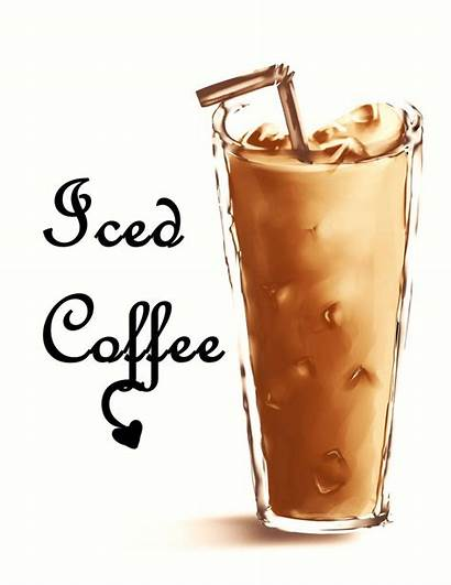 Coffee Iced Clipart Cold Deviantart Somi Clip