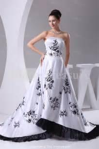 black and white bridesmaid dresses 30 black and white wedding dresses combination fashion fuz
