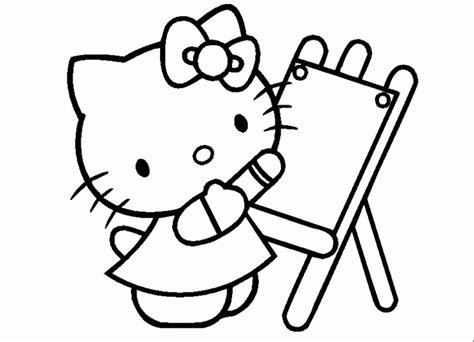coloriage hello dessins a imprimer pour les petits