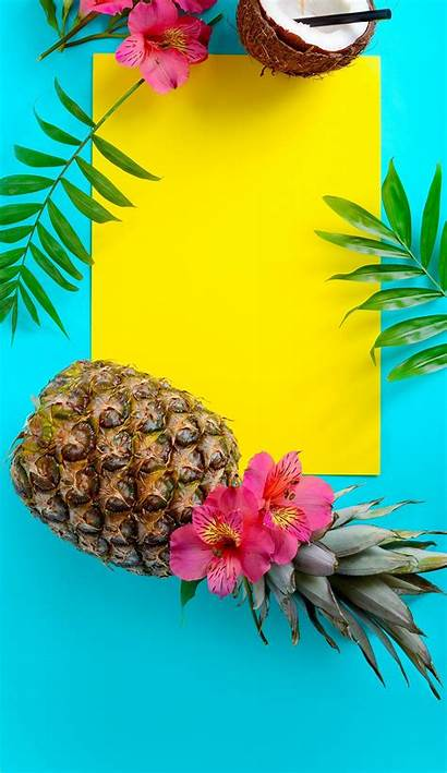 Tropical Summer Wallpapers Iphone Fruit
