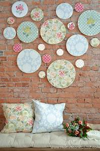 DIY Embroidery Hoop Wall Art - Home Stories A to Z
