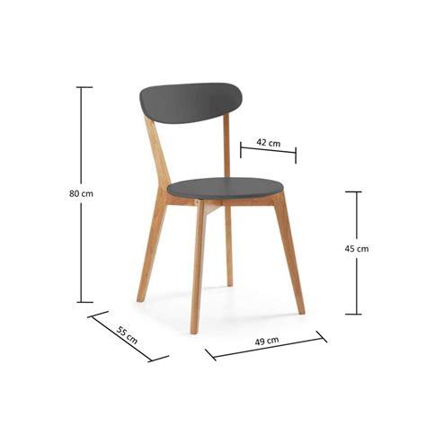 Mesure D Une Chaise by Chaises Deisgn Scandinave Vitak Par Drawer
