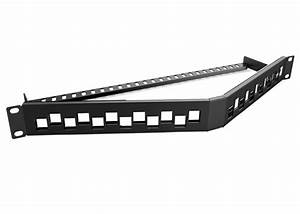Rack Mount Ethernet Patch Panels Cat5e    Cat6    Cat6a