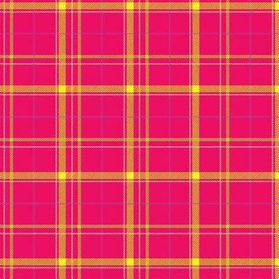 Tartan Plaid Pattern Pink Free Stock Photo - Public Domain
