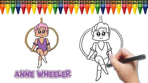 Draw Anne Wheeler (zendaya) From