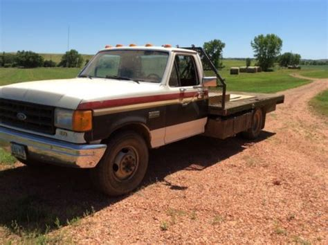 purchase   ford  series  truck  flat bed