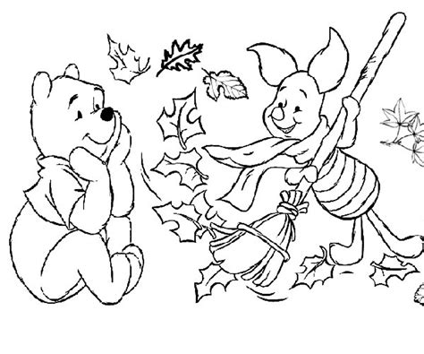 fall color pages fall coloring pages for kindergarten learning printable