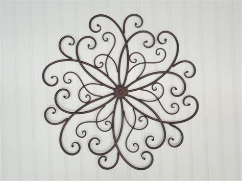 metal wall scroll wall decor bohemian metal wall decor rustic