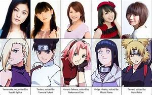 Meet Their Voice Actress Funny Pinterest Naruto And